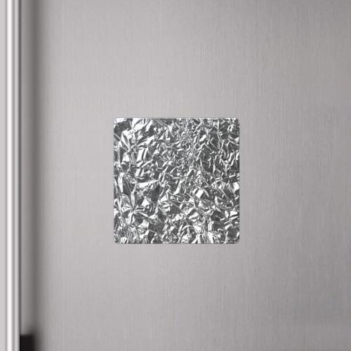 Магнит виниловый Квадрат Silver Фото 01