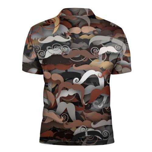 Мужская рубашка поло 3D  Фото 02, Усы
