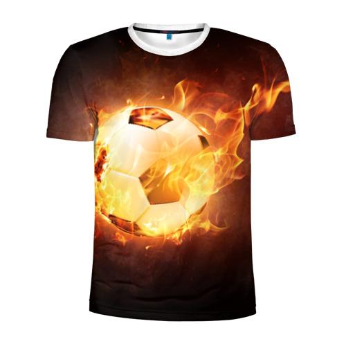Мужская футболка 3D спортивная  Фото 01, Мяч