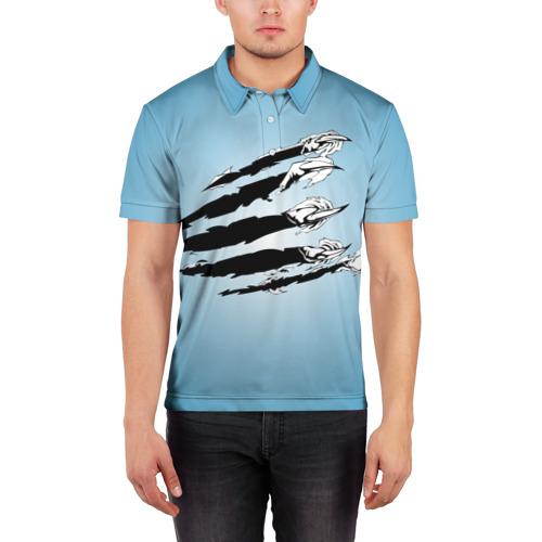 Мужская рубашка поло 3D  Фото 03, Когти