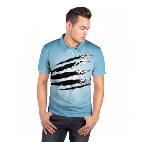 Мужская рубашка поло 3D  Фото 05, Когти