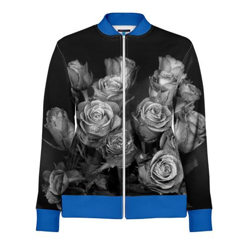 Черно-белые розы