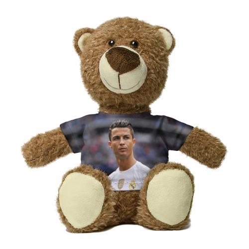 Миша в футболке 3D Cristiano Ronaldo