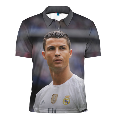 Мужская рубашка поло 3D  Фото 01, Cristiano Ronaldo