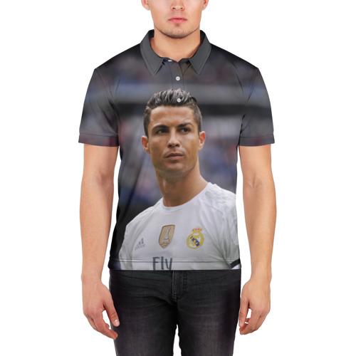Мужская рубашка поло 3D  Фото 03, Cristiano Ronaldo