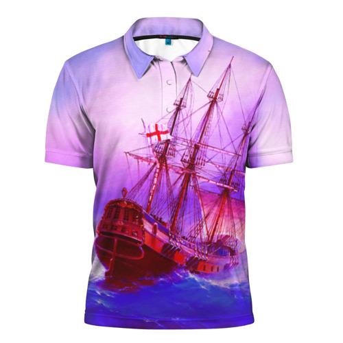 Мужская рубашка поло 3D  Фото 01, Фрегат