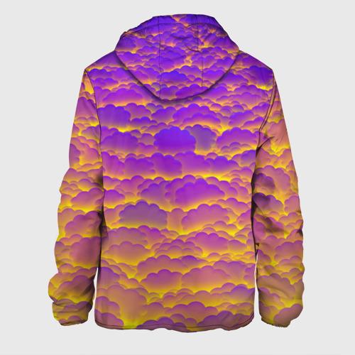 Мужская куртка 3D  Фото 02, Фиолетовые облака