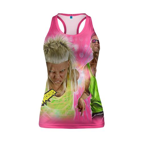 Женская майка 3D спортивная  Фото 01, Die Antwoord 9