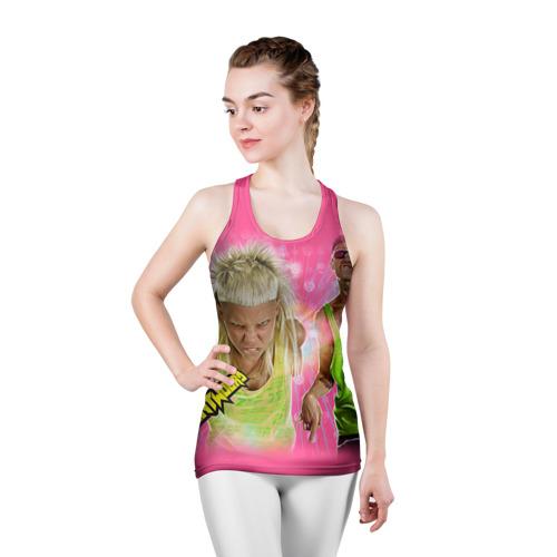 Женская майка 3D спортивная  Фото 03, Die Antwoord 9