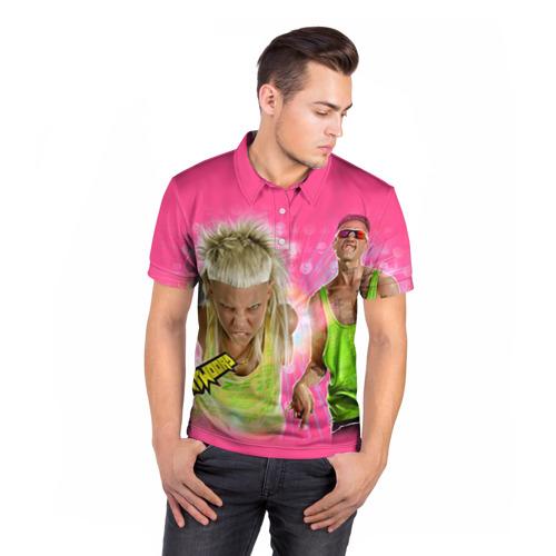 Мужская рубашка поло 3D  Фото 05, Die Antwoord 9