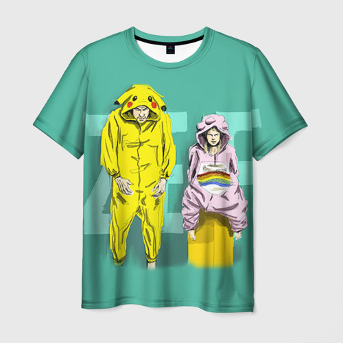Мужская футболка 3D Die Antwoord 2