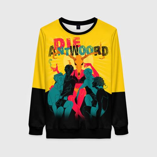 Женский свитшот 3D Die Antwoord 1 Фото 01