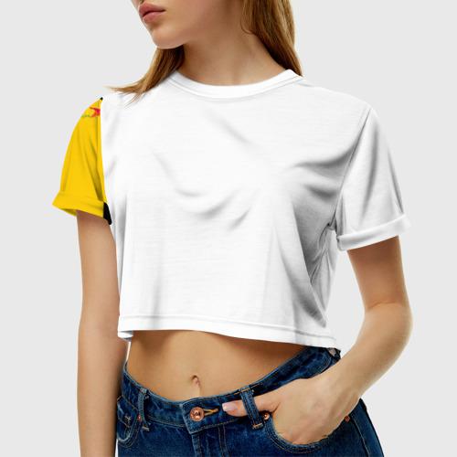 Женская футболка 3D укороченная  Фото 01, Die Antwoord 1