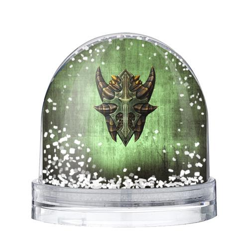 Водяной шар со снегом  Фото 01, Чешуйчатый щит Дракона
