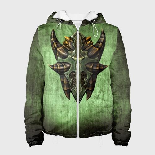 Женская куртка 3D  Фото 01, Чешуйчатый щит Дракона