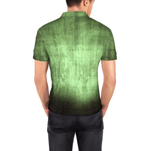 Мужская рубашка поло 3D  Фото 04, Чешуйчатый щит Дракона