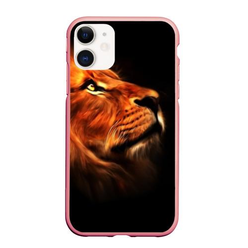 Чехол для iPhone 11 матовый Lion Фото 01