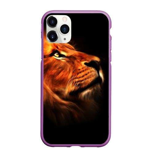 Чехол для iPhone 11 Pro матовый Lion Фото 01