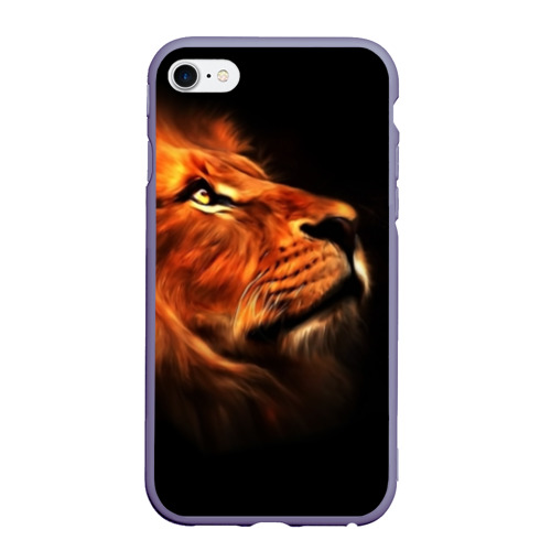 Чехол для iPhone 6Plus/6S Plus матовый Lion Фото 01