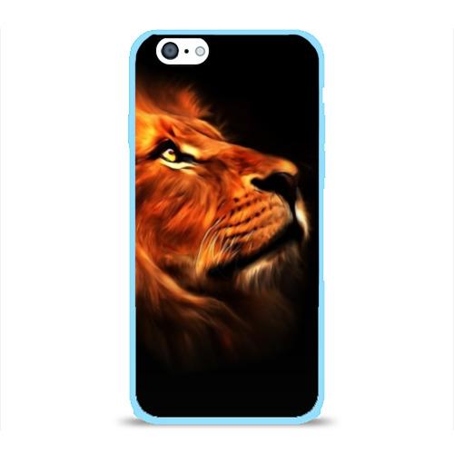 Чехол для iPhone 6/6S глянцевый Lion Фото 01
