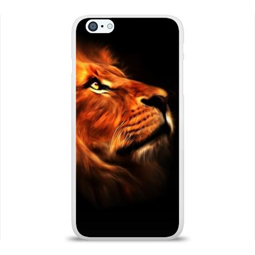 Чехол для iPhone 6/6S Plus глянцевый Lion Фото 01