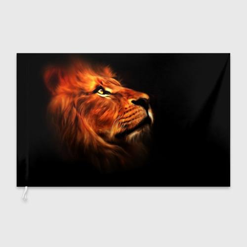 Флаг 3D Lion Фото 01