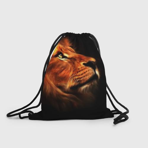 Рюкзак-мешок 3D Lion Фото 01