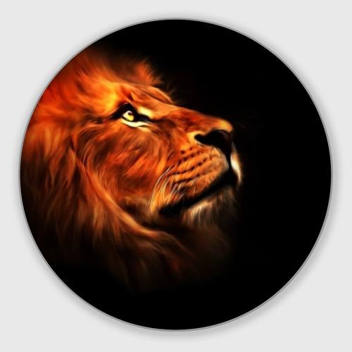 Коврик для мышки круглый Lion Фото 01