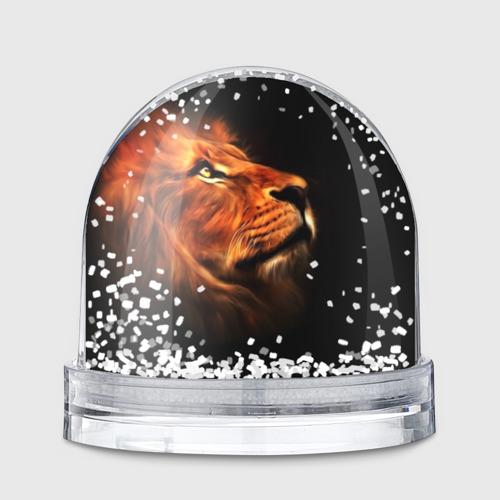 Снежный шар Lion Фото 01