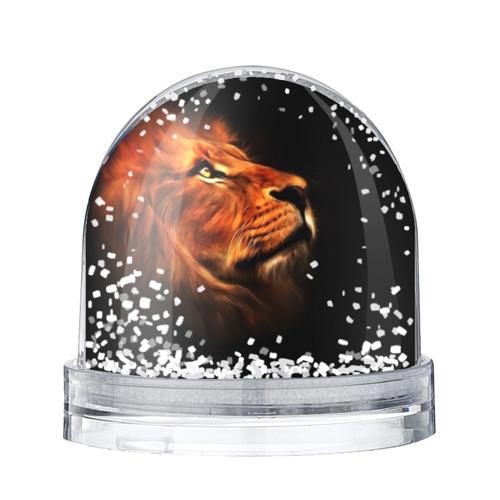 Водяной шар со снегом  Фото 01, Lion