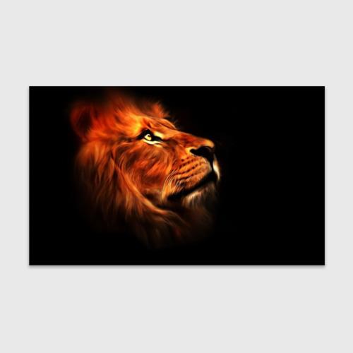 Бумага для упаковки 3D Lion Фото 01