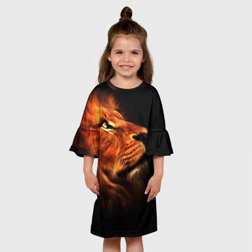 Детское платье 3D Lion Фото 01