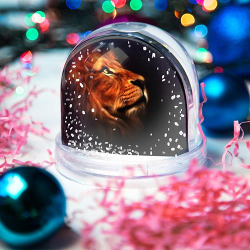 Водяной шар со снегом  Фото 03, Lion