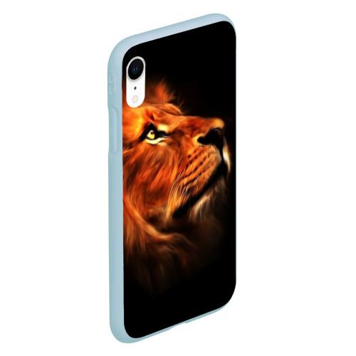 Чехол для iPhone XR матовый Lion Фото 01
