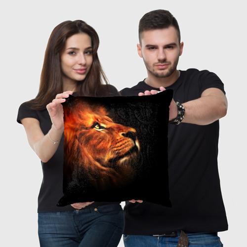 Подушка 3D Lion Фото 01