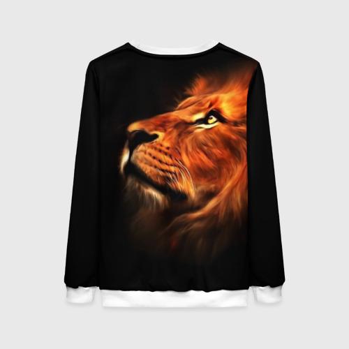Женский свитшот 3D Lion Фото 01