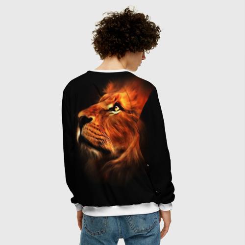 Мужской свитшот 3D Lion Фото 01