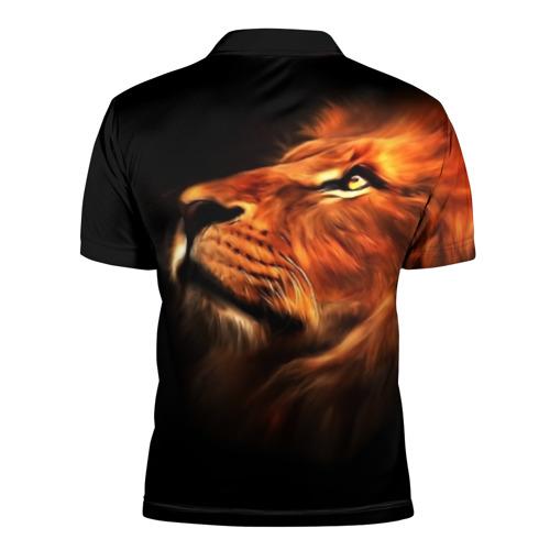 Мужская рубашка поло 3D  Фото 02, Lion