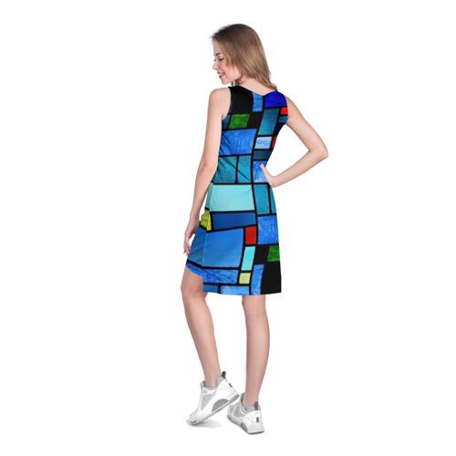 Платье-майка 3D  Фото 04, Мозаичная абстракция