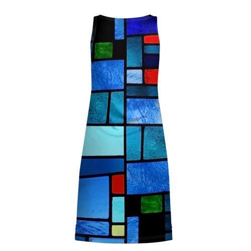 Платье-майка 3D  Фото 02, Мозаичная абстракция