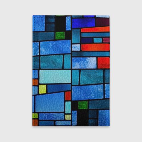 Обложка для автодокументов Мозаичная абстракция Фото 01