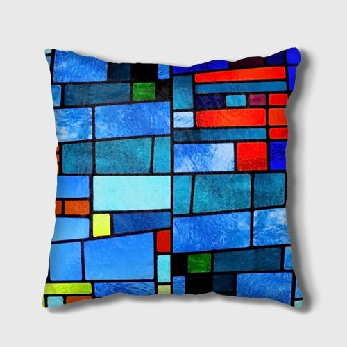 Подушка 3D Мозаичная абстракция Фото 01