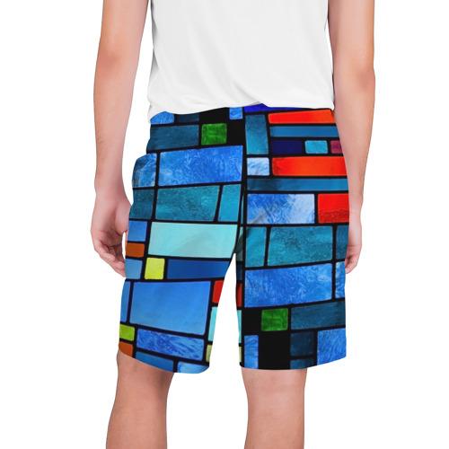 Мужские шорты 3D  Фото 02, Мозаичная абстракция