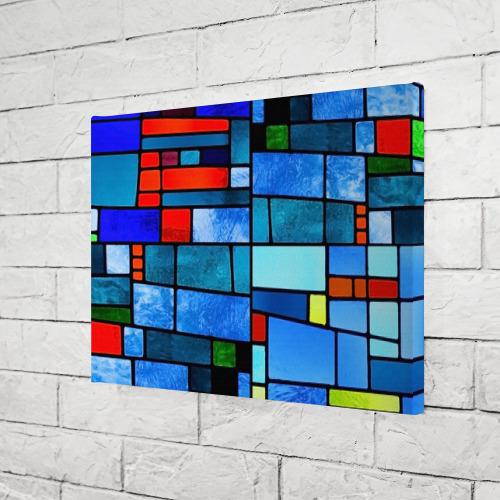Холст прямоугольный Мозаичная абстракция Фото 01