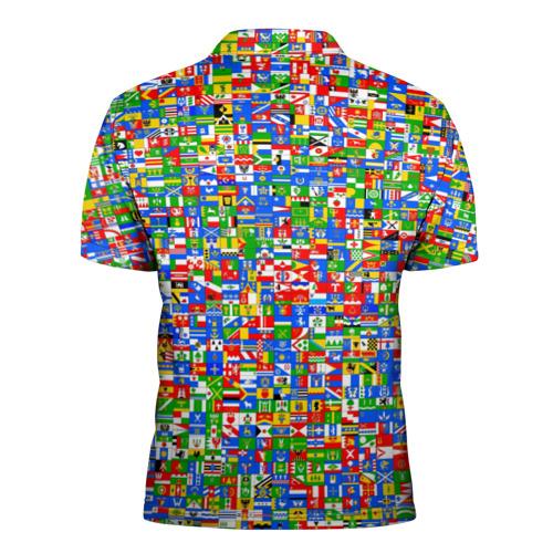 Мужская рубашка поло 3D  Фото 02, Gerb bombing