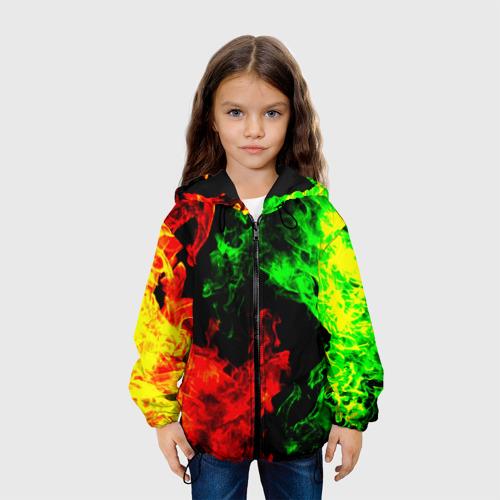Детская куртка 3D Огненная битва Фото 01