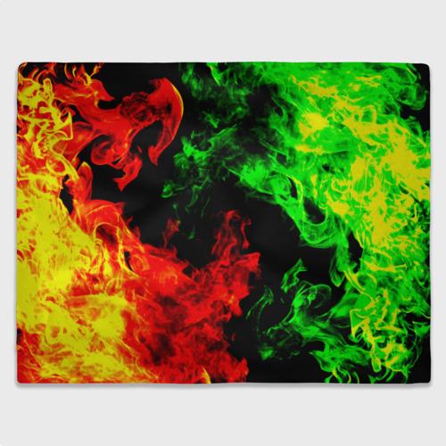 Плед 3D Огненная битва Фото 01