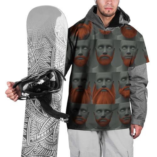 Накидка на куртку 3D  Фото 01, Борода