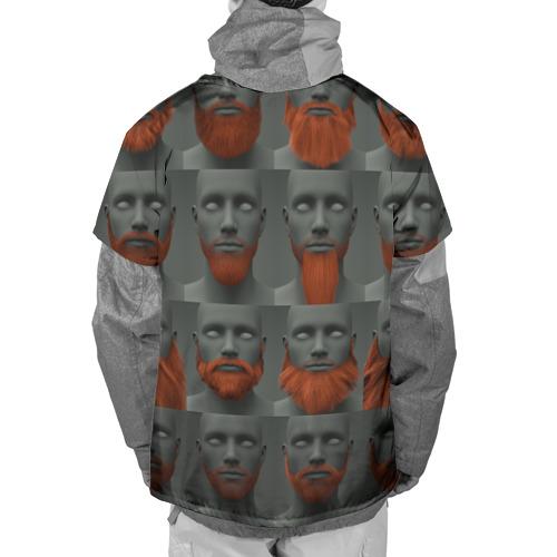 Накидка на куртку 3D  Фото 02, Борода