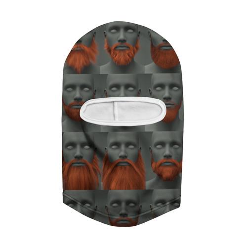 Балаклава 3D  Фото 02, Борода